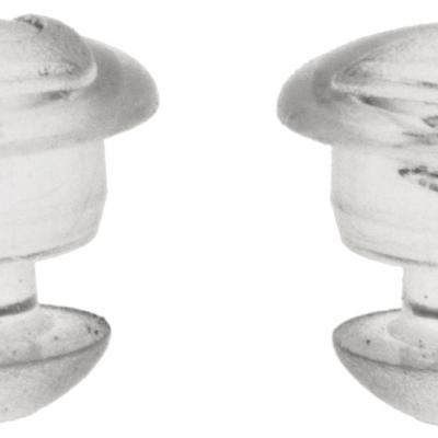 čepy jednokomponentní pro Pinlock folii přileb