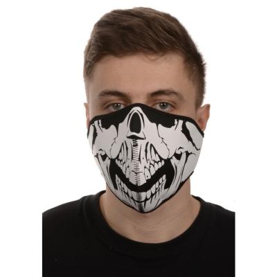 maska neoprenová Skull