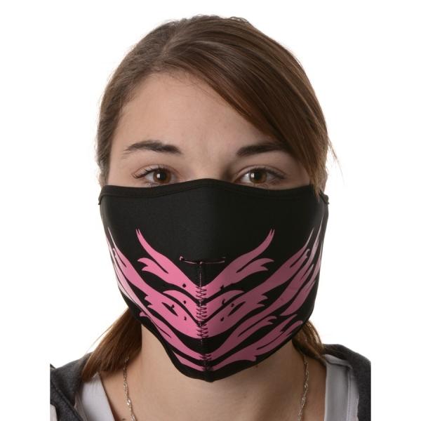 maska neoprenová Pink Feather